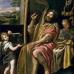 Domenichino -- King David, Château de Versailles