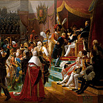 Château de Versailles - Jean Baptiste Debret -- First distribution of the Legion of Honor at the Eglise des Invalides, by the Emperor, 14 July 1804