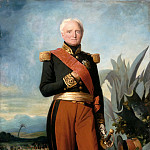 Charles Philippe Auguste Larivière -- Thomas-Robert Bugeaud de la Piconnerie, Maréchal of France in 1843, duc d'Isly in 1844, depicted as Govenor General of Algeria, Château de Versailles