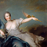 Marie-Anne de Nesle, Marquise of Tournelle, Duchess of Chateauroux (), Jean Marc Nattier