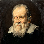Attributed to Francesco Boschi -- Portrait of Galileo Galilei, Astronomer, Château de Versailles