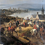 Victor Adam -- French Army enters Mainz October 21, 1792. General Custine receives the surrender of Baron Gimnich , Château de Versailles