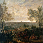 Jean-Baptiste Martin the elder -- Taking of Naerden, 20 July 1672, Château de Versailles