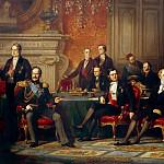 Château de Versailles - Edouard Dubufe -- The Congress of Paris, 20 February to 30 March 1856