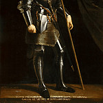 Philippe de Champaigne; after a painting attributed to Giorgione -- Portrait of Gaston de Foix, Duc de Nemours , Château de Versailles