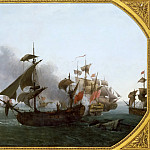 Château de Versailles - Jean François Hue -- Naval Combat off the Island of Grenada between the French Fleet Commanded by the Comte d'Estaing and the English Squadron of Vice-Admiral Byron, July 6, 1779