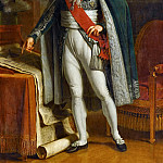Jacques Augustin Pajou -- Louis-Alexadre Berthier, Prince of Neufchatel and of Wagram, Marechal of France , Château de Versailles