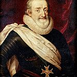 Château de Versailles - School of Frans Pourbus the younger -- Henry IV, King of France and Navarre (1553-1610)