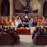 Jean Alaux -- Meeting of the Estates-General in Paris, April 10, 1302 , Château de Versailles