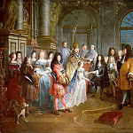 Château de Versailles - Antoine Dieu -- Marriage of Louis of France, Duke of Burgundy, and Marie-Adelaide of Savoy, 7 December 1697