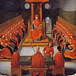 Joseph Albrier, after a 16th Century Flemish painting -- First meeting of the Order of the Golden Fleece held by Philip III the Good, Duke of Burgundy, in the church of Saint-Pierre in Lille, 10 January 1430, Château de Versailles
