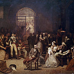 Château de Versailles - Charles Louis Lucien Muller -- Roll call of the last victims of the Reign of Terror at the Saint-Lazare Prison, 7-9 Thermidor 1794