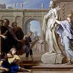 René-Antoine Houasse -- Minerva Teaches the Art of Sculpture to the People of Rhodes, Château de Versailles