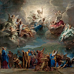 Château de Versailles - Jean-Baptiste Jouvenet -- Descent of the Holy Spirit to the Apostles (Ascension of Christ)