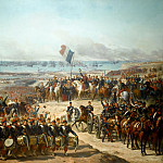 Château de Versailles - Félix Joseph Barrias -- Disembarkation of the French Army at Old-Port under the Command of Marshals Canrobert and Saint-Arnaud, in presence of Prince Napoléon, General of the Armée d'Orient, 14 September 1854