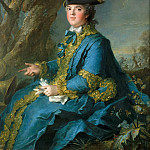 Jean-Marc Nattier -- Louise-Elisabeth of France, Duchess of Parma , Château de Versailles