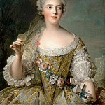 Sophie-Philippine-Elisabeth-Justine of France, called Madame Sophie (), Jean Marc Nattier