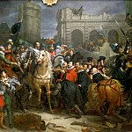 Entry of Henri IV into Paris, March 22, 1594, Francois Pascal Simon Gerard