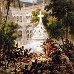 Château de Versailles - Louis Francois Lejeune -- Episode from the Seige of Saragossa: Assault on San Engracia, 8 February 1809