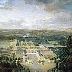 Jean-Baptiste Martin the elder -- View of the Grand Trianon, neae the Cote de l'Avenue, Château de Versailles
