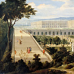 Attributed to Jean-Baptiste Martin the elder -- The Orangerie at Versailles, Château de Versailles