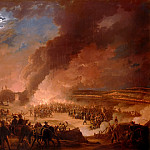 Louis Albert Guislain Baclère d'Albe -- Napoléon I visiting the bivouacs of the army at ten o'clock in the evening, the day before the Battle of Austerlitz on December 1, 1805, Château de Versailles