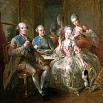 Jean-Baptiste Charpentier the Elder -- Family of the Duc de Penthièvre , Château de Versailles