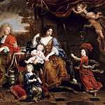 Pierre Mignard I -- The Family of the Grand Dauphin, Château de Versailles