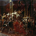 Coronation of Charles X at Reims, May 29, 1825, Francois Pascal Simon Gerard