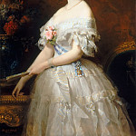 Edouard Dubufe -- Eugénie de Montijo, Emperess of the French , Château de Versailles