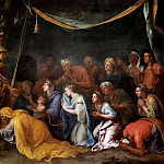 Charles Le Brun -- Family of Darius at the Feet of Alexander , Château de Versailles