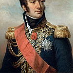 Paulin Guérin -- Auguste Frédéric Louis Viesse de Marmont, duke of Ragusa, Marshal of France, seen in his uniform under the Restoration, Château de Versailles