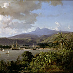 Vincent-Joseph-François Courdouan -- Rendezvous of the ships of he expedition to Mexico at Martinique, October 1862, Château de Versailles