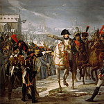 Château de Versailles - Claude Gautherot -- Napoleon Addressing the 2nd Corps of his Army at the Bridge over the Lech at Augsburg, Germany, on October 12, 1805
