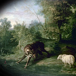 Château de Versailles - Jean-Baptiste Oudry -- The wolf and the lamb