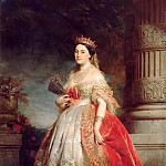 Château de Versailles - Edouard Dubufe -- Mathilde-Laetitia-Wilhelmine Bonaparte, called Princess Mathilde (1820-1904)