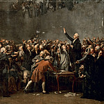 Auguste Couder -- Oath of the Tennis Court , 20 June 1789, Château de Versailles
