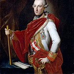 Anton von Maron -- Joseph II , Emperor of Austria, King of Hungary and Bohemia, in the uniform of a field marshal of Austria, wearing the Order of the Golden Fleece, the Military Order of Maria-Theresa and a plaque of the Order of Saint Steven of Hungary, Château de Versailles