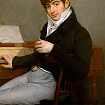 Antoine-Jean Gros -- Pierre-Joseph-Guillaume Zimmermann at his Piano, Château de Versailles