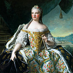 Jean-Marc Nattier -- Marie-Josephe of Saxony, Dauphine of France ; also called Madame de France, Château de Versailles