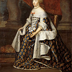 Château de Versailles - Charles Beaubrun, Henri Beaubrun the Younger -- Marie-Thérèse, Queen of France