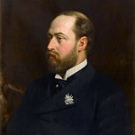 Michele Gordigiani -- Portrait of Edward VII, Prince of Wales, future King of England, Château de Versailles