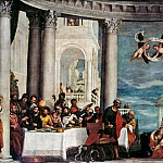 Paolo Veronese -- The Feast in the House of Simon the Pharisee, Château de Versailles