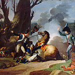 Jean François Pierre Peyron -- Death of General Valhubert, 2 December 1805, Château de Versailles