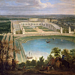 Jean-Baptiste Martin the elder -- View of the Orangerie, Château de Versailles