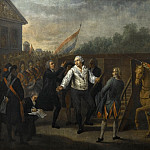 Charles Benazet -- Louis XVI Taken to the Place of Execution, Château de Versailles