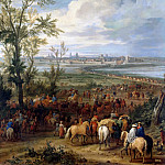 Pierre-Denis Martin after Adam Frans van der Meulen -- Taking of Ypres, 19 March 1678, Château de Versailles