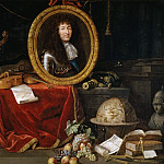 Jean Garnier -- Allegory of Louis XIV, Protector of the Arts and Sciences, Château de Versailles