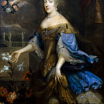 Anonymous French painter of the school of Pierre Mignard I -- Anne-Marie-Louise d'Orleans, Duchess of Montpensier, called 'La Grande Mademoiselle', Château de Versailles