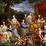 Jean Nocret I -- The family of Louis XIV, Château de Versailles